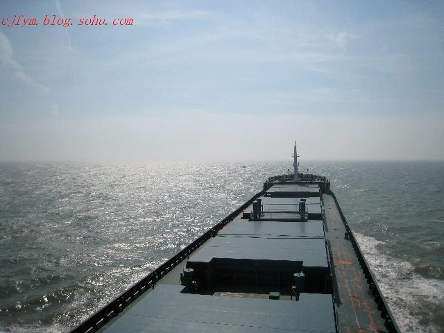 航区散货船海上航行试验(船长米、型宽米、型深米、主机功率3552