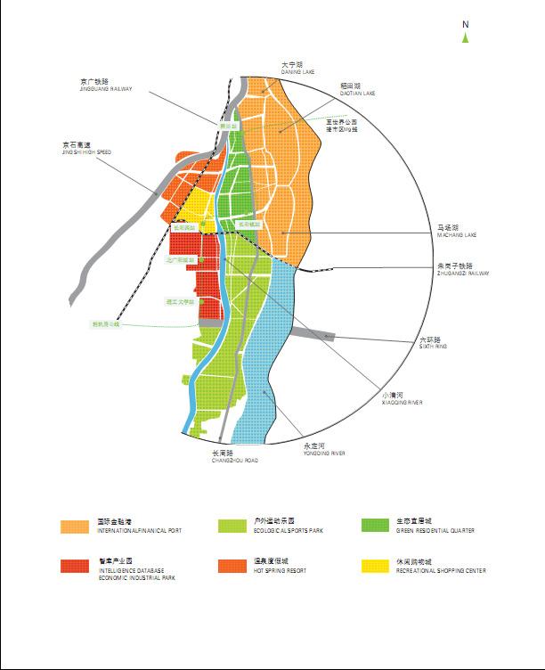 北京csd长阳半岛规划图