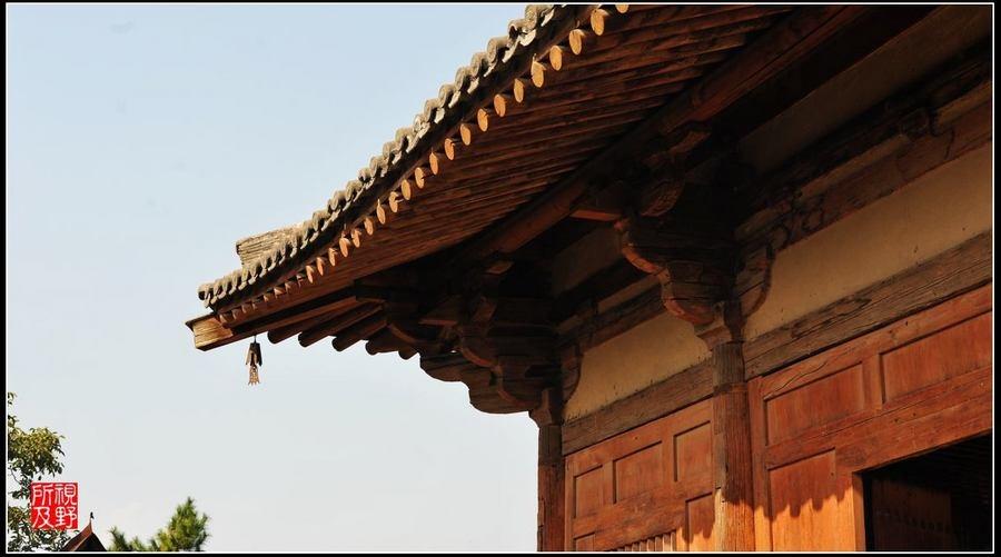 古老的木结构建筑