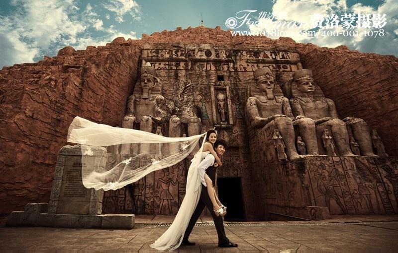 千岛湖婚纱摄影告诉你黒美眉拍照变美丽的方法