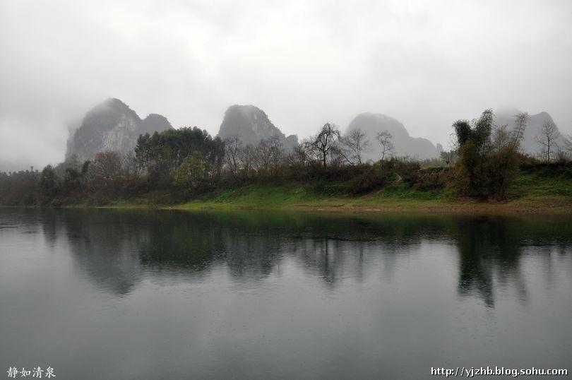 桂林山水之----无烟雨不漓江