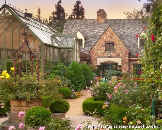 别墅庭院景观设计 中式别墅庭院