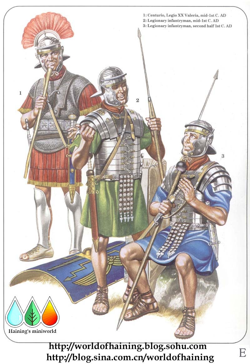 古代军队 动漫 素材