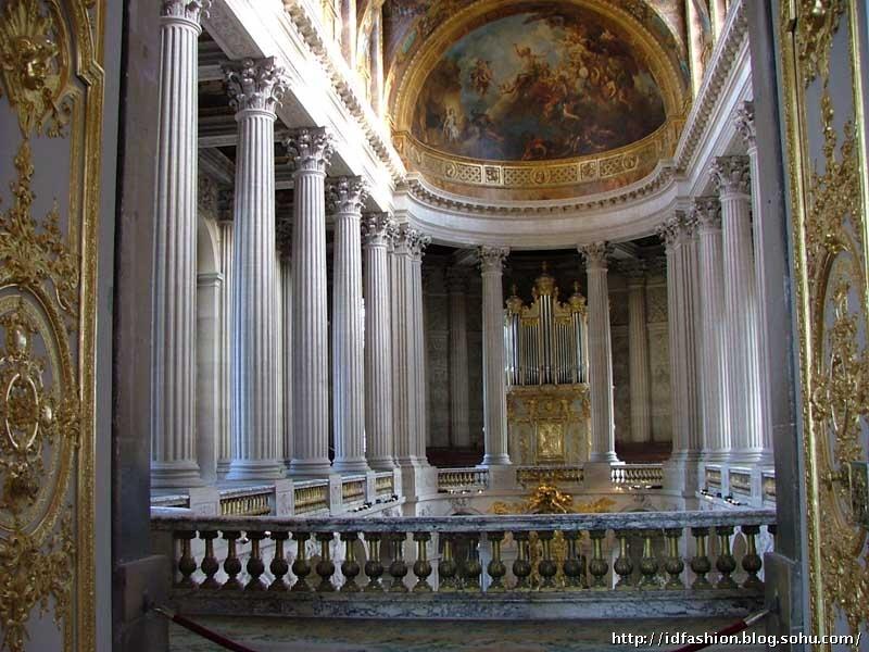 风尚设计欧洲考察之法国凡尔赛宫巴洛克艺术殿堂