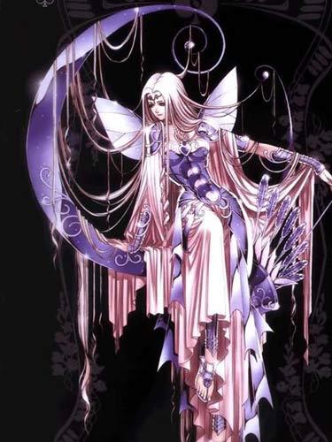 古希腊神话 月亮神