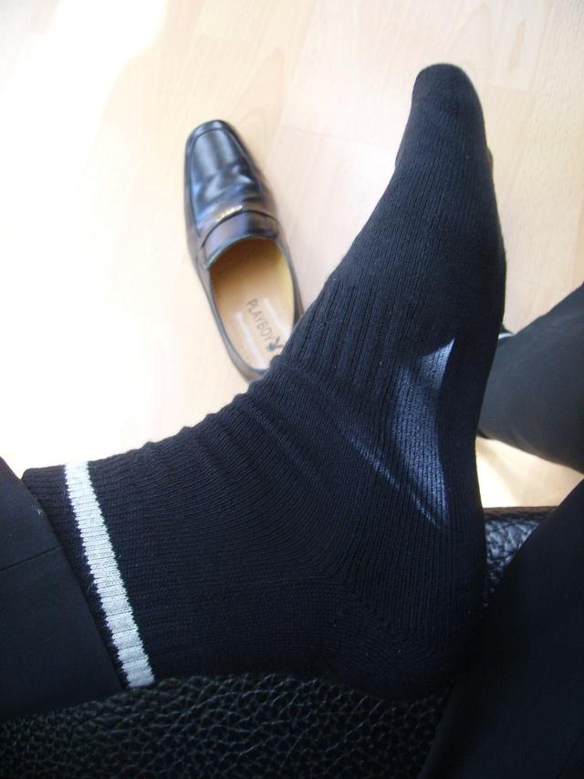 黑皮鞋+黑袜-帅脚总动员-搜狐博客