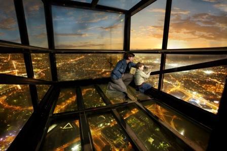 玻璃钢结构观景