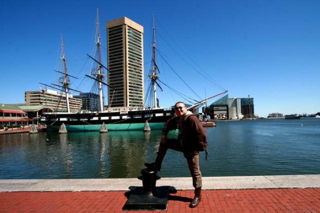 巴尔的摩的明珠海港.