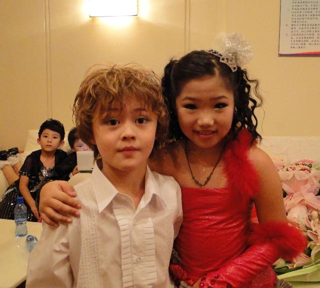 陈维琳和外国小童星