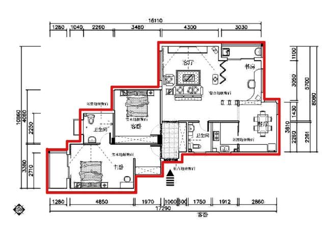 吊顶图 (依据套内楼层数)   7,水路系统图 (依据套内楼层数)   8,电路