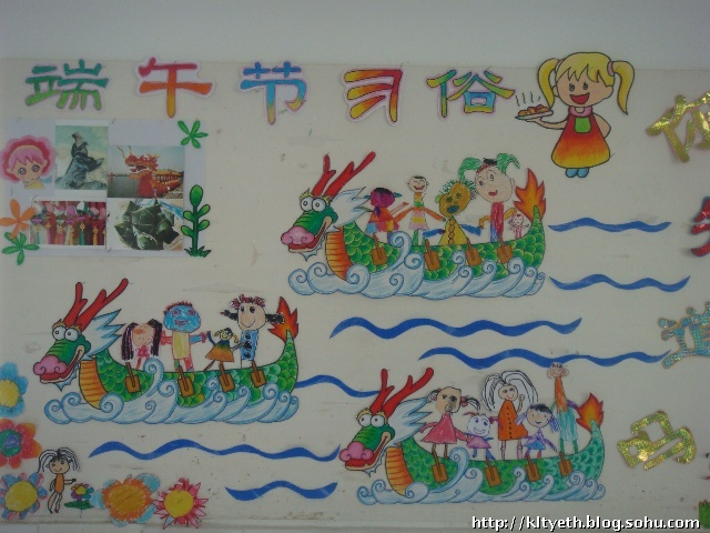 端午节习俗 粽子宝宝------幼儿绘画作品图片