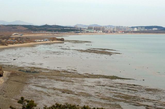 四月,游葫芦岛海滨