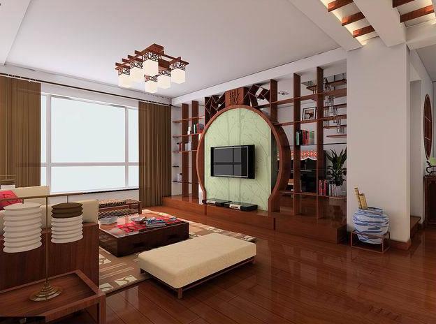 中国风-家居装潢的一抹亮色