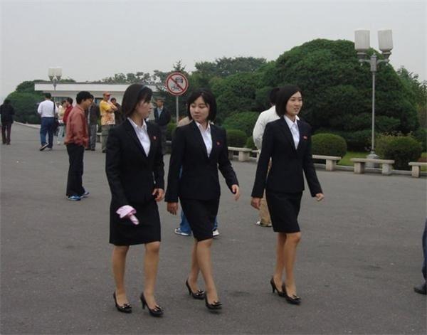 图:平壤美女们 朝鲜新闻资讯的博客