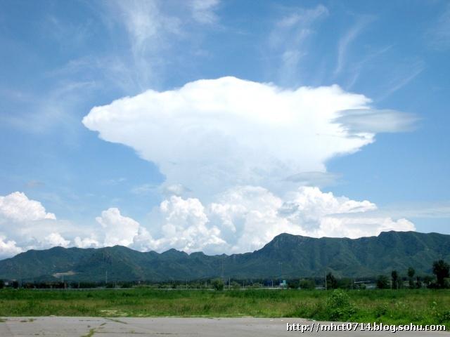 万幸邂逅这一朵云彩.