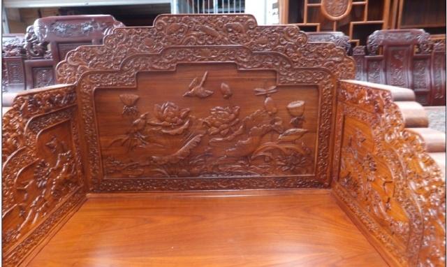 东阳木雕大象工艺品