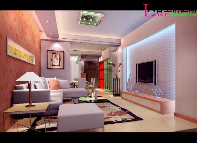 5000张室内设计客厅电视墙装修效果图室内装(-)