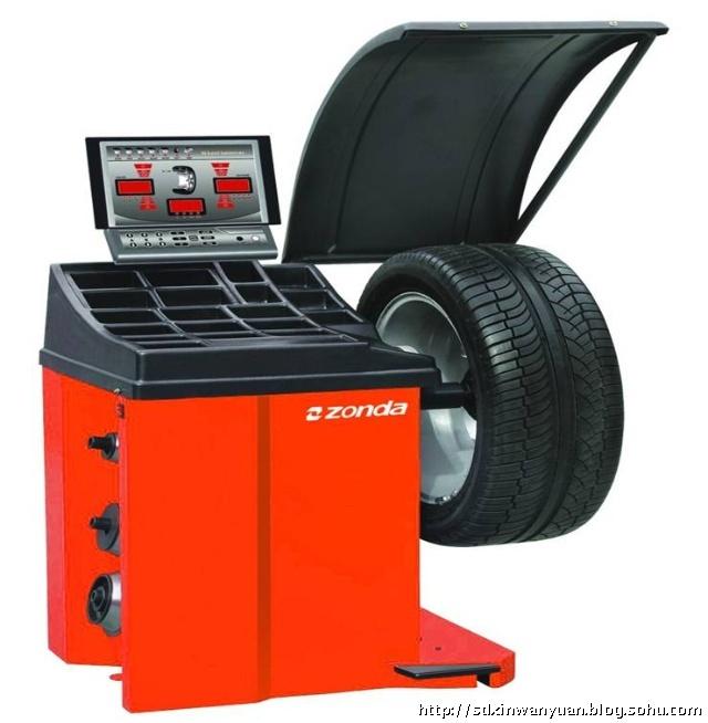 轮胎动平衡机的具体操作步骤
