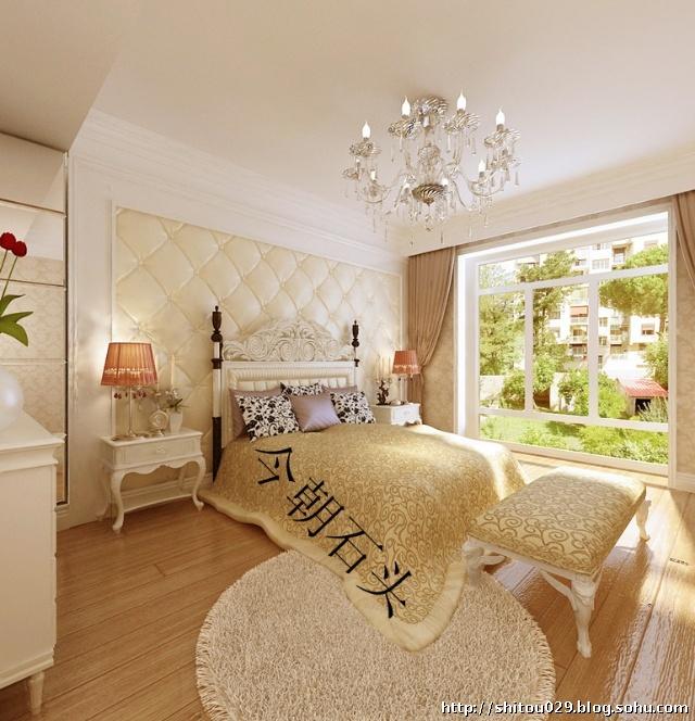南湖壹号3居室156平米欧式风格装修案例