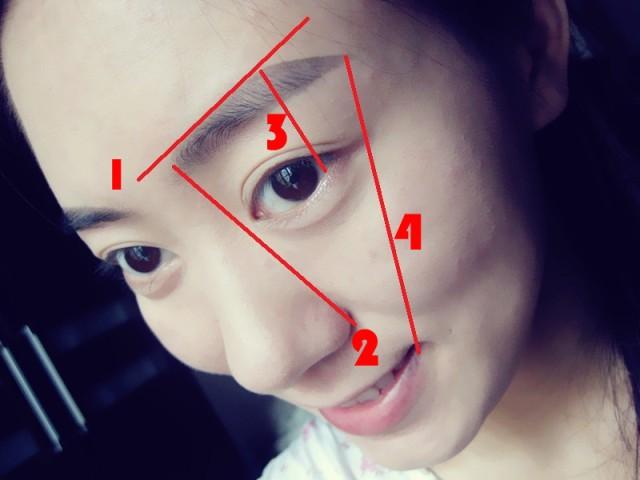 韩式一字眉的画法及技巧