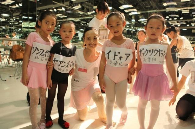 世界级芭蕾艺术家森下洋子在东京指导北京学员排练图片
