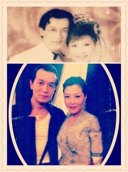 哈文晒与李咏20年前婚纱照引网友强势围观