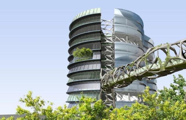 新加坡的立体绿化城市概念