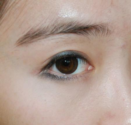 圆眼线画法步骤图解