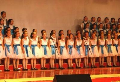 """""""唱响大运""""南山区小学生合唱比赛图片"""