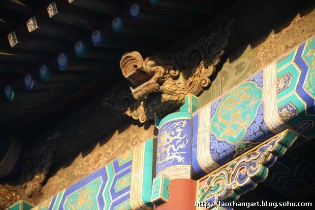 普渡寺——金龙和玺彩绘