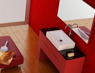 房顶红色外墙瓷砖搭配效果图