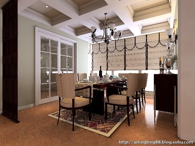 园232平米顶层复式带阁楼房简欧风格装修设计效果图
