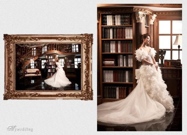 是我的王妃 之欧式宫廷奢华婚纱照