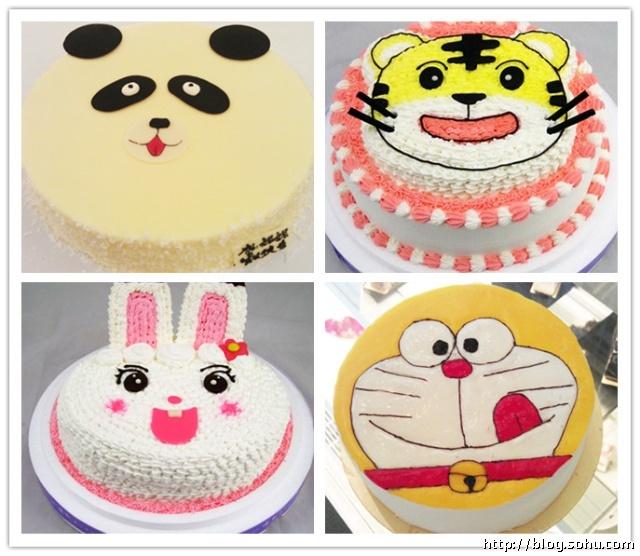 卡通蛋糕 卡通生日蛋糕