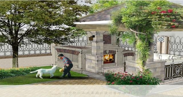 所以忆江山庭院设计师在别墅原有欧式风格基础上进行